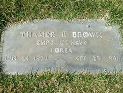 Thamer Ellis Brown