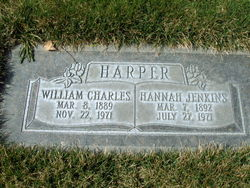 Hannah <I>Jenkins</I> Harper