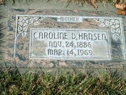 Caroline <I>Draper</I> Hansen
