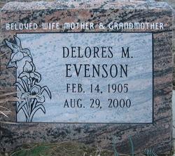 Delores Marie <I>Lightner</I> Evenson