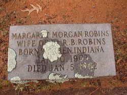 Margaret <I>Morgan</I> Robins