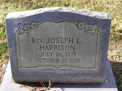 Rev Joseph L. Harrison