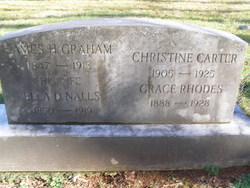 Grace M <I>Graham</I> Rhodes