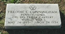 Freddie C Cunningham