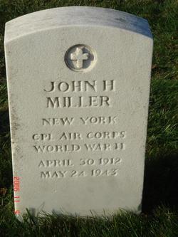 CPL John H Miller