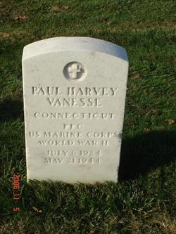 PFC Paul Harvey Vanesse
