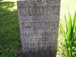 Margaretta <I>Lansdale</I> Williams