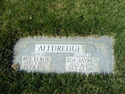 Ida Deseret <I>Jaynes</I> Alldredge