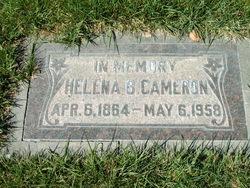 Helena Catherine <I>Burrows</I> Cameron