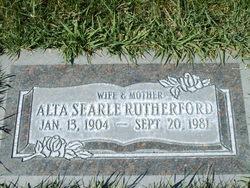 Ruth Alta <I>Searle</I> Rutherford