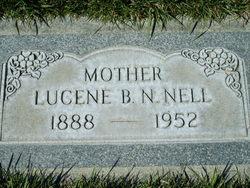 Araminta Lucene <I>Beckstead</I> Nell