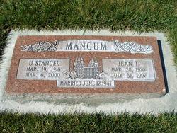Jean <I>Thornberg</I> Mangum