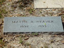 Mattie B Weaver