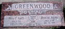 May <I>Tufts</I> Greenwood