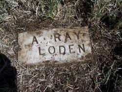 Alvin Ray Loden