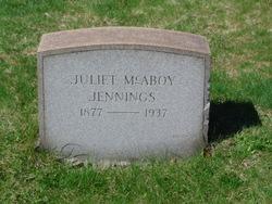 Juliet <I>McAboy</I> Jennings