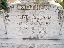 Olive <I>Richard</I> Malapart
