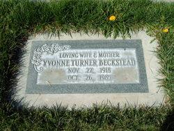 Yvonne Emma <I>Turner</I> Beckstead