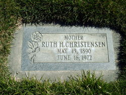 Ruth H. <I>Smith</I> Christensen