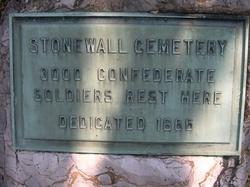 Confederate Unknowns Memorial