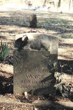 Dave Pryor Vance