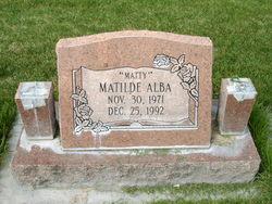 """Matilde """"Matty"""" Alba"""