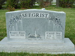 Carol Joy <I>Young</I> Seegrist