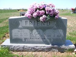 Ina <I>Gaddis</I> Friend