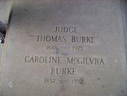 Caroline <I>McGilvra</I> Burke