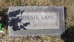 Minnie Lang Hazlitt