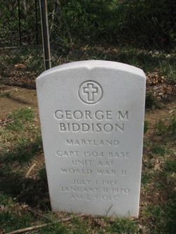 George M Biddison