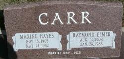 Raymond Elmer Carr