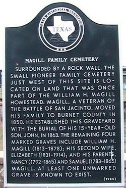Magill Family Cemetery