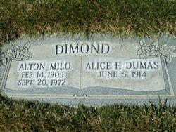 """Alton Milo """"Tobey"""" Dimond"""