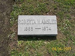 Roberta <I>Witt</I> Amsler