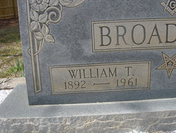 "William Thomas ""Will"" Broadwell"