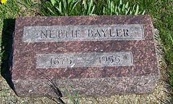 Nettie <I>Rumley</I> Bayler