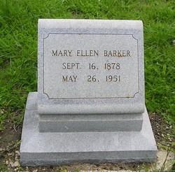 Mary Ellen <I>McCunningham</I> Barker