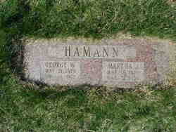 George August Wilhelm John Hamann