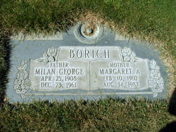 Margaret Alice <I>Smith</I> Borich