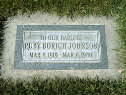 Ruby Borich Johnson