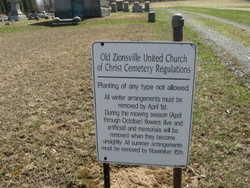 Old Zionsville United Church of Christ Cemetery