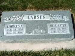 Leonard Alfred Larsen