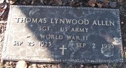Sgt Thomas Lynwood Allen