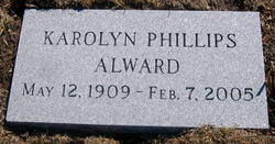 Karolyn P <I>Phillips</I> Alward
