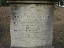 Lieut Abraham Hyatt