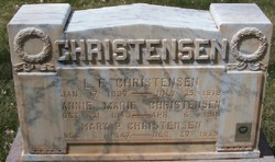 Annie Marie Nielsen <I>Lee</I> Christensen