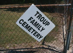 Troup Family Cemetery
