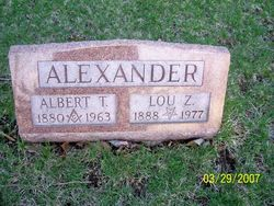 Albert T. Alexander