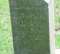 Edwin M Joslin